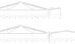 Складское здание из быстровозводимых металлоконструкций Borga для хранения, перемещения и фасовки макулатуры