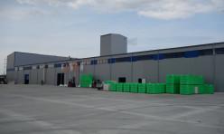Ангар под производство автоклавного газобетона из легких металлоконструкций Borga