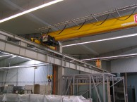 Строительство склада быстровозводимого производства BORGA, Швеция