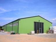 Ангар склад производства BORGA, Швеция
