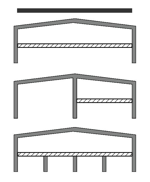 Монтаж быстровозводимых зданий с межэтажным перекрытием