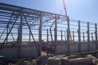 Строительные металлоконструкции для монтажа ангаров