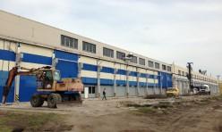 Начало строительства логистического центра