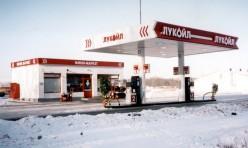 """Металлоконструкции для АЗС """"Лукойл"""""""