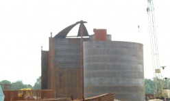 Монтаж резервуаров для ООО «БалтНафта»