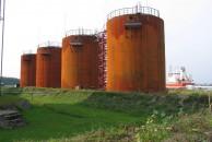 Резервуарный парк Калининградской портовой нефтебазы