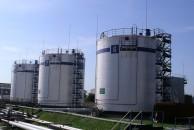 Монтаж резервуаров объемом 1500 м. куб. для нефтебазы
