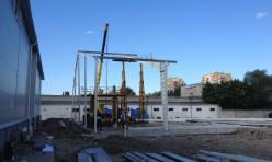 Начало строительства быстровозводимого ангара для компании «Ремжилстрой»