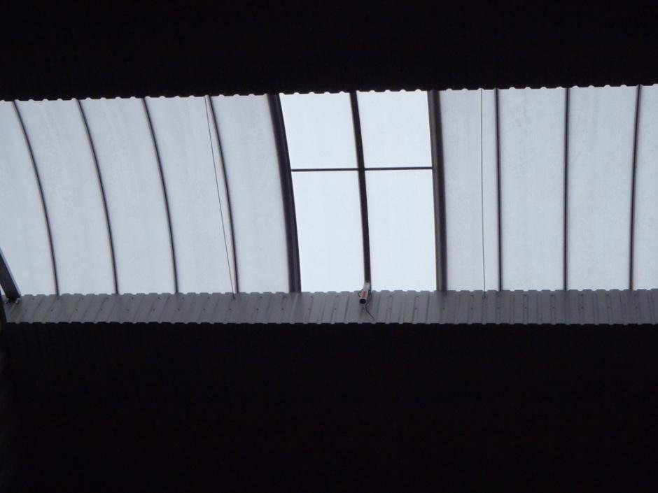 Светопрозрачный фонарь быстровозводимого здания Borga