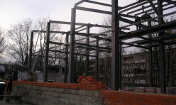 Металлические конструкции для зоопарка